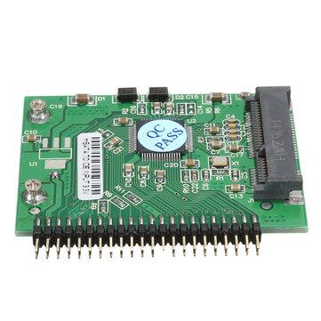 MSATA Mini PCI-E SSD to 1.8inch 44 Pin IDE Adapter Hard Disk Converter Card Board