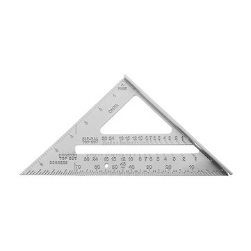 Aluminum Alloy Speed Square Combination Triangle Ruler Carpenter's Protractor Miter Framing