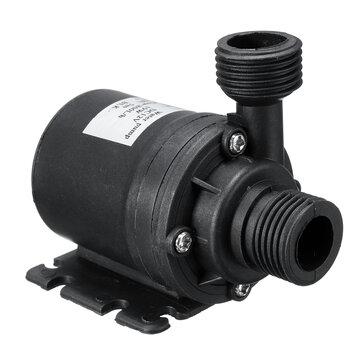 Bomba de circulación de agua caliente sumergible 800L / H 12V DC 5M Solar Motor Sin escobillas