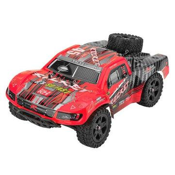 REMO 1625 1/16 2,4G 4WD Vodotěsný kartáč Off Road Monster Truck RC modely vozidel červené