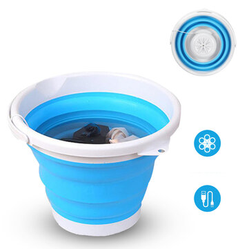 How can I buy 4 Modes 10L Portable Folding Mini Washing Machine Rotating Turbines Washer USB Charging Laundry Clothes Cleaner for Outdoor Travel with Bitcoin