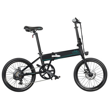 [EU Direct] FIIDO D4s 10.4Ah 36V 250W 20 Inches Folding Moped Bicycle 25km_h Top Speed 80KM Mileage Range Electric Bike