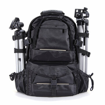 Waterproof Nylon Camera Backpack Bag With Rain Cover For Canon Nikon