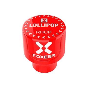 Foxeer Lollipop 2 Stubby 5.8GHz 2.5Dbi RHCP / LHCP FPV Antenna SMA 2 ขาสำหรับ FPV RC โดรน
