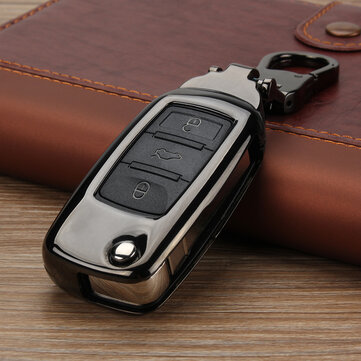 Zinc Alloy Car Key Case/bag Protector Cover Remote Control Fob for VW for Volkswagen GTI Golf Jetta