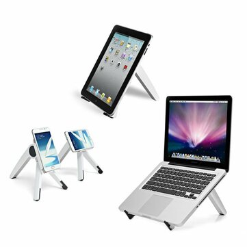 """Universal Rotatable Stand Holder For Iphone Samsung Smartphone 3""""-6"""" iPad Tablet 7""""-10"""" Laptop Under 14"""""""