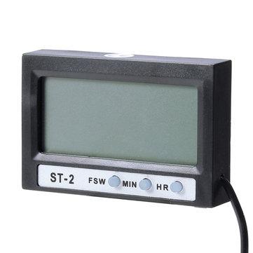 Display LCD doméstico relógio termômetro digital temperatura de auto