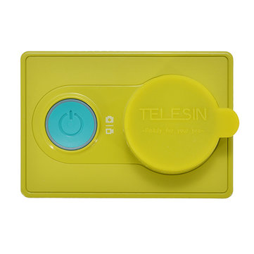 Lens Cover Protective Case Soft Cover for Xiaomi Yi Action Camera