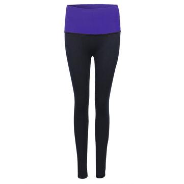 महिला उच्च लोचदार आकार नौ पैंट त्वरित सूखी खेल लेगिंग्स
