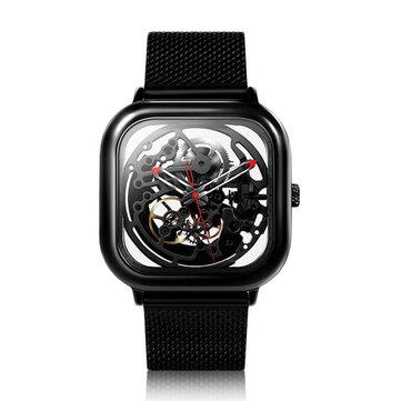 Original CIGA Design Men Automatic Mechanical Watch Full Hollow Stainless Steel Wrist Watch from xiaomi youpin