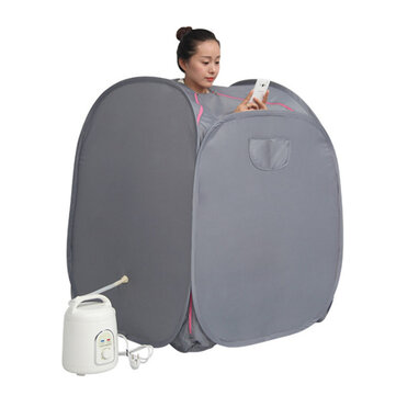 Portable Steam Sauna Tent SPA Slimming Detox Weight Reduce Home Sauna Rooms for sale in Litecoin with Fast and Free Shipping on Gipsybee.com