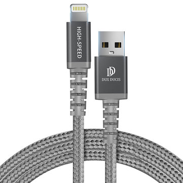 DUX DUCIS Lightning for Fast Charging Data Cable for iPhone X 7 8 6 6s Plus 5s 5 se
