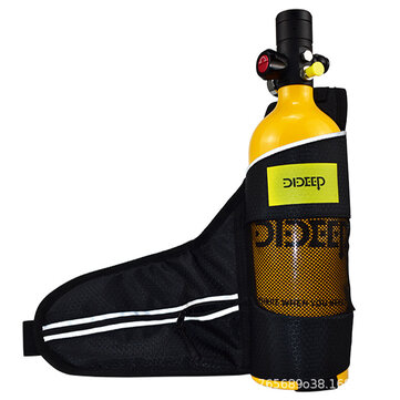 Buy DIDEEP 1L Oxygen Tank Bag Underwater Equipment Swimming Diving Accessories with Litecoins with Free Shipping on Gipsybee.com