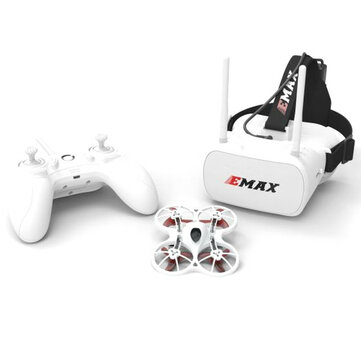 Emax Tinyhawk Indoor FPV Racing Drone BNF RTF F4 4in1 3A 15000KV 37CH 25mW 600TVL VTX 1S RC Drones from Toys Hobbies and Robot on banggood.com