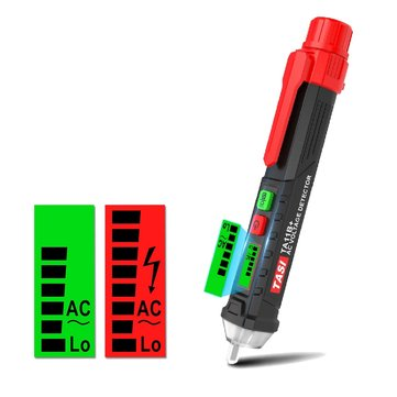 AC Non-Contact LCD Electric Voltage Tester Pen 12-1000V Detector Tester Alarm