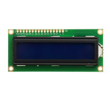 3 Adet 1602 Karakter LCD Ekran Modülü Için Mavi Aydınlatmalı