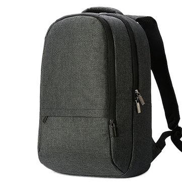 Мужчины Холст 15,6-дюймовый Рюкзак для ноутбука Водонепроницаемый Повседневный Daypack