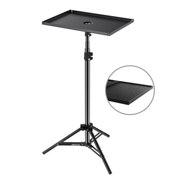 BlitzWolf® BW-VF1 Projector Stand Tripod with Large Tray Stable Portable Extensive Height Adjustable Simple Installation Portable to Carry for Indoor Outdoor Projection Movie