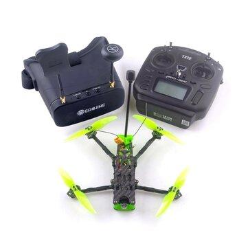 Eachine Novice_IV 4 Inch 3_4S Sub 250g LR Micro Long Range FPV Racing Drone RTF & Fly more w EV800DM Goggles Radiomaster TX12 Transmitter
