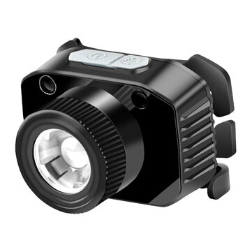Buy Warsun 1000LM Induction Zoomable HeadLamp Waterproof 3 Modes USB Rechargeable Outdoor Camping Hiking Cycling Fishing Light with Litecoins with Free Shipping on Gipsybee.com