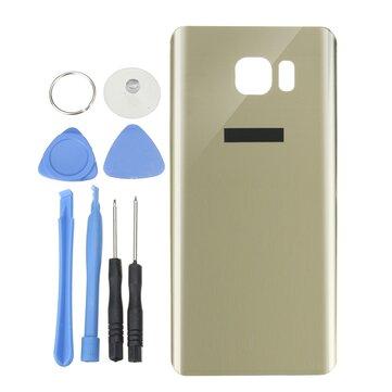 Vetro posteriore Batteria Sostituzione coperchio alloggiamento porta con riparazione Strumenti per Samsung Galaxy Note 5 N920