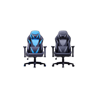 AutoFull Ergonomic Racing Gaming Chair Adjustable Recline Angle PU Leather...