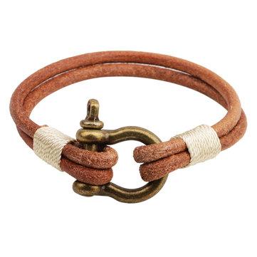 Nuevo estilo pulsera de la forma de bloqueo para el novio de la joyería de regalo de cumpleaños
