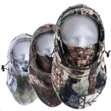 Motorcycle Riding Thicken Warm Face Mask Caps Windproof