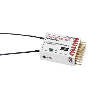 MOTIVE-RC R8SB 2.4G 9CH Frsky D8 Compatible Telemetry Receiver for X9D Plus DJT XJT Transmitter