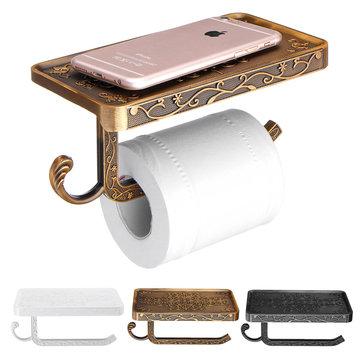 AU ติดผนังห้องน้ำม้วนเนื้อเยื่อกระดาษที่วางชั้นวางยืนโทรศัพท์ชั้นวาง ห้องอาบน้ำ กระดาษถ