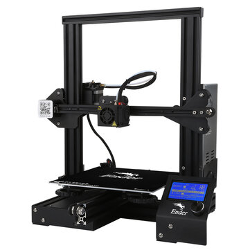 Creality 3D®  Ender-3 Vスロット    Prusa I3  DIY 3Dプリンタ  キット 220x220x250mm印刷サイズ MK10 押出機付き 1.75mm 0.4mmノズル