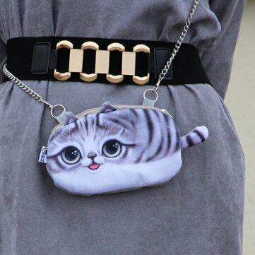 Women's Cat Face Shoulder Bag Crossbody Bag Phone Bag Coins Bag For iPhone Samsung Huawei Xiaomi