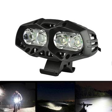 XANES ML01 1600LM Waterproof Bike Front Light 4* T6 4 Modes Multipurpose Outdoor Sports Headlight