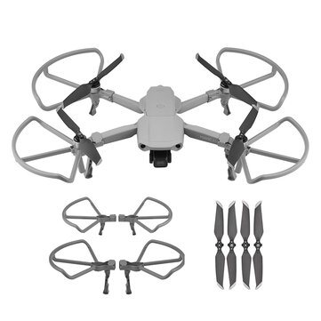 Propeller Guard Blade Protector with Foldable Standing for DJI MAVIC AIR 2 RC Drone Quadcopter