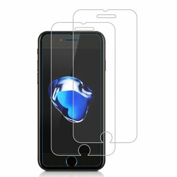 2 Pack Bakeey 0.26mm 9H Scratch Resistant Tempered Glass Screen Protector For iPhone 7/8