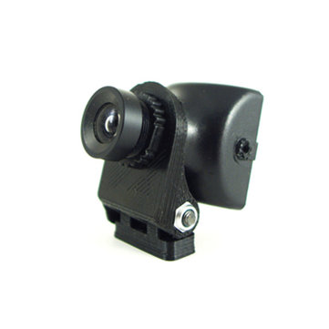 FPV Camera Mount Camera Holder 0-45 Degree Adjustable For 12mm Diameter Camera Lens PLA