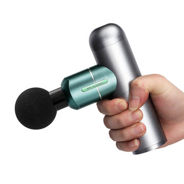 BlitzWolf BW FAS1 Electric Percussion Massage Guns 2000mAh 4 Speeds Deep Tissue Muscle Vibration Therapy Massager W or 4 Massage Heads