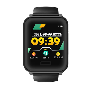 Bakeey E33 1.3 ECG Heart Rate Blood Pressure Monitor Long Standby Detachable Strap Sport Mode Message View Smart Watch