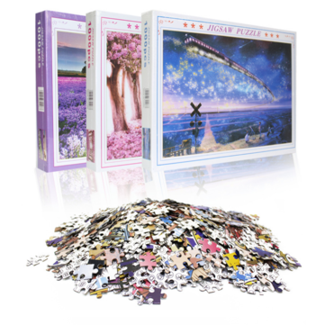 Buy 1000 Pieces Paper Puzzle Landscape Architecture Series Children Adult Educational Leisure Jigsaw Puzzle Toy with Litecoins with Free Shipping on Gipsybee.com