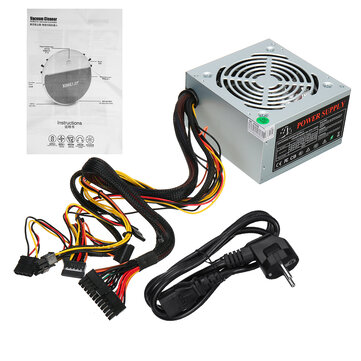 550W PC Power Mute Wear-resisting 12V ATX Computer Case Host Power Supply for sale in cryptocurrencies for the best price on Gipsybee.com.