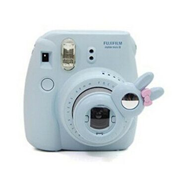 Close Up Lens Self Portrait Mirror for Fujifilm Instax Mini 8 7S Instant Film Camera Lovely Rabbit