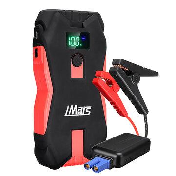 IMars J02 Portable Car Jump Starter 1300A 16000mAh Powerbank Emergency Battery Booster with LED Flashlight USB Port