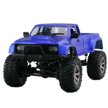 Fayee FY002A 2nd Generation 1/16 2.4G 338mm Rc Car Military Truck With Front LED Light RTR Toy