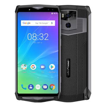 Ulefone Power 5S 6.0 inch 13000mAh Wireless Charge 4GB RAM 64GB ROM MT6763 Octa core 4G Smartphone