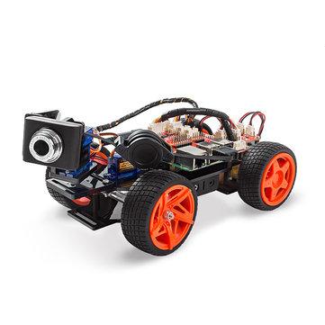 SunFounder PiCar-V Smart Robot Video Car V2.0 Kit for Raspberry Pi 3/2/B+