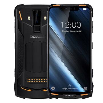 US $ 299.99 25% DOOGEE S90 6.18 Pulgada FHD + IP68 Impermeable NFC 5050mAh 6GB RAM 128GB ROM Helio P60 Octa Core 4G Smartphones desde Teléfonos Móviles y Accesorios en banggood.com
