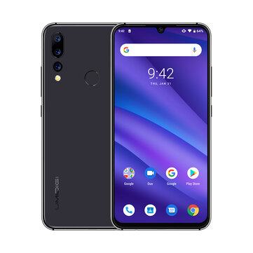 UMIDIGI A5 Global Pro Version 6.3 pous FHD + Waterdro Display android 9.0 4150mAh Triple Arrière Kamera 4GB 32GB Helio P23 4G Smartphone