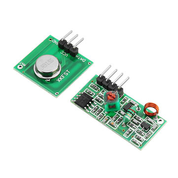 3Pcs 315MHz XD-FST XD-RF-5V Wireless Transmitter Receiver Module Board Not Super-heterodyne