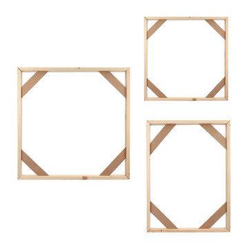 Marco de madera barras de estiramiento tiras de estiramiento para la lona Cuadro de imagen de la foto marco DIY