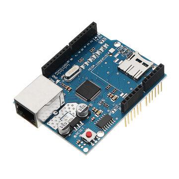 Geekcreit Ethernet Shield Module W5100 Micro SD Card Slot For  UNO MEGA 2560